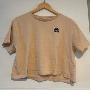 Kappa   Cropped Tee Shirt